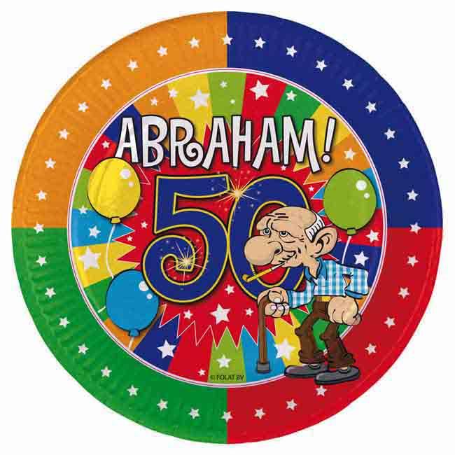 KroŽniki 50 Let Abraham 18 Cm 8 Kosov Mega Dekoracije